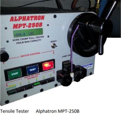 Alphatron Tensile Tester