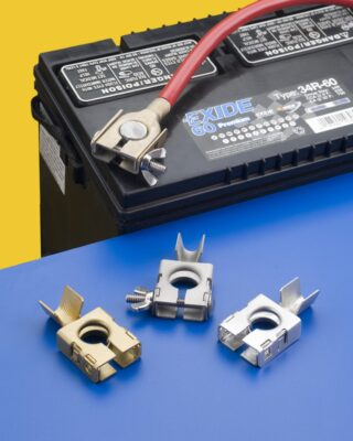 RoHS battery terminals
