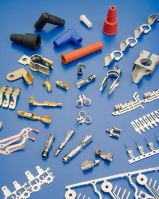 ETCO produces custom precision metal stampings as well as high volume electrical terminals.