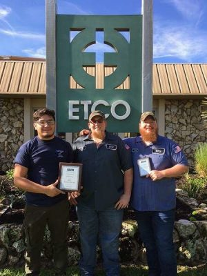 ETCO named National Tooling and Machining Association 2017 Employer of the Year
