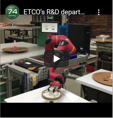 ETCO R&D Tests Robotic Automation