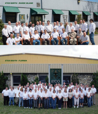 ETCO employees with 20+ years of service